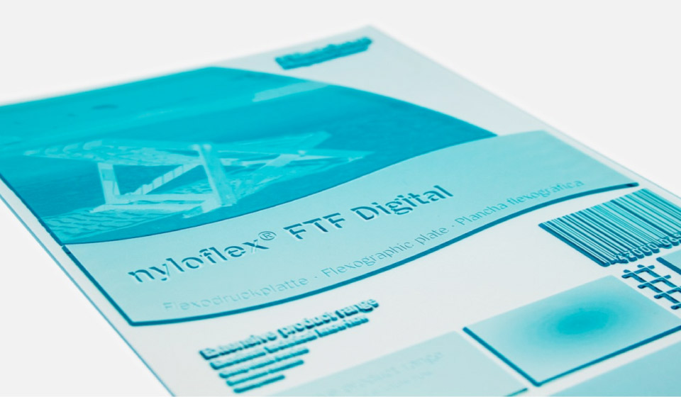 Flint flexographic printing plates by Reproflex 3